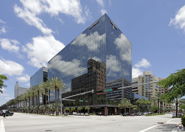 the office building at 201 Alhambra Circle in Coral Gables, Florida where the Susy Ribero-Ayala, P.A. law firm is located.